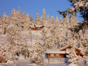 hytter i fjellområder